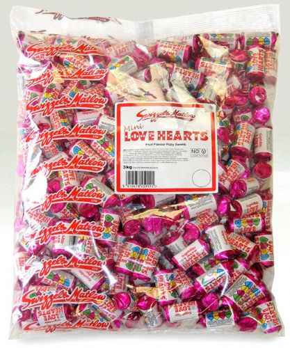 SW82 LOVE HEARTS POLY BAG 3KG